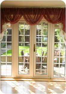 Interior UPVC windows